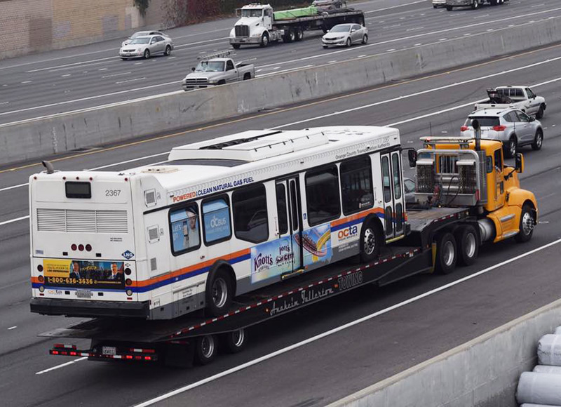 Bus Towing in Orange County, CA