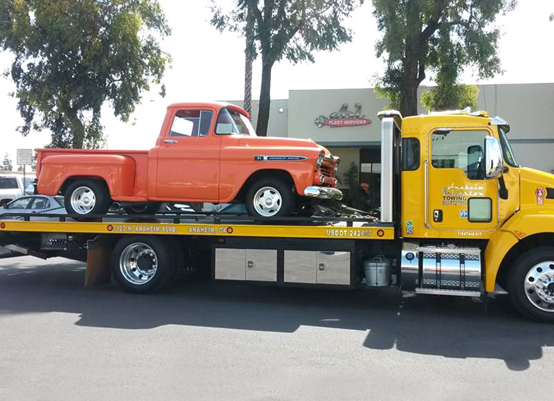 Local Towing Services in Orange, CA
